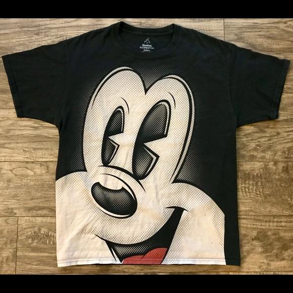 d4434a138 Hanes Shirts | Walt Disney World Mickey Mouse Graphic T Shirt Lg ...